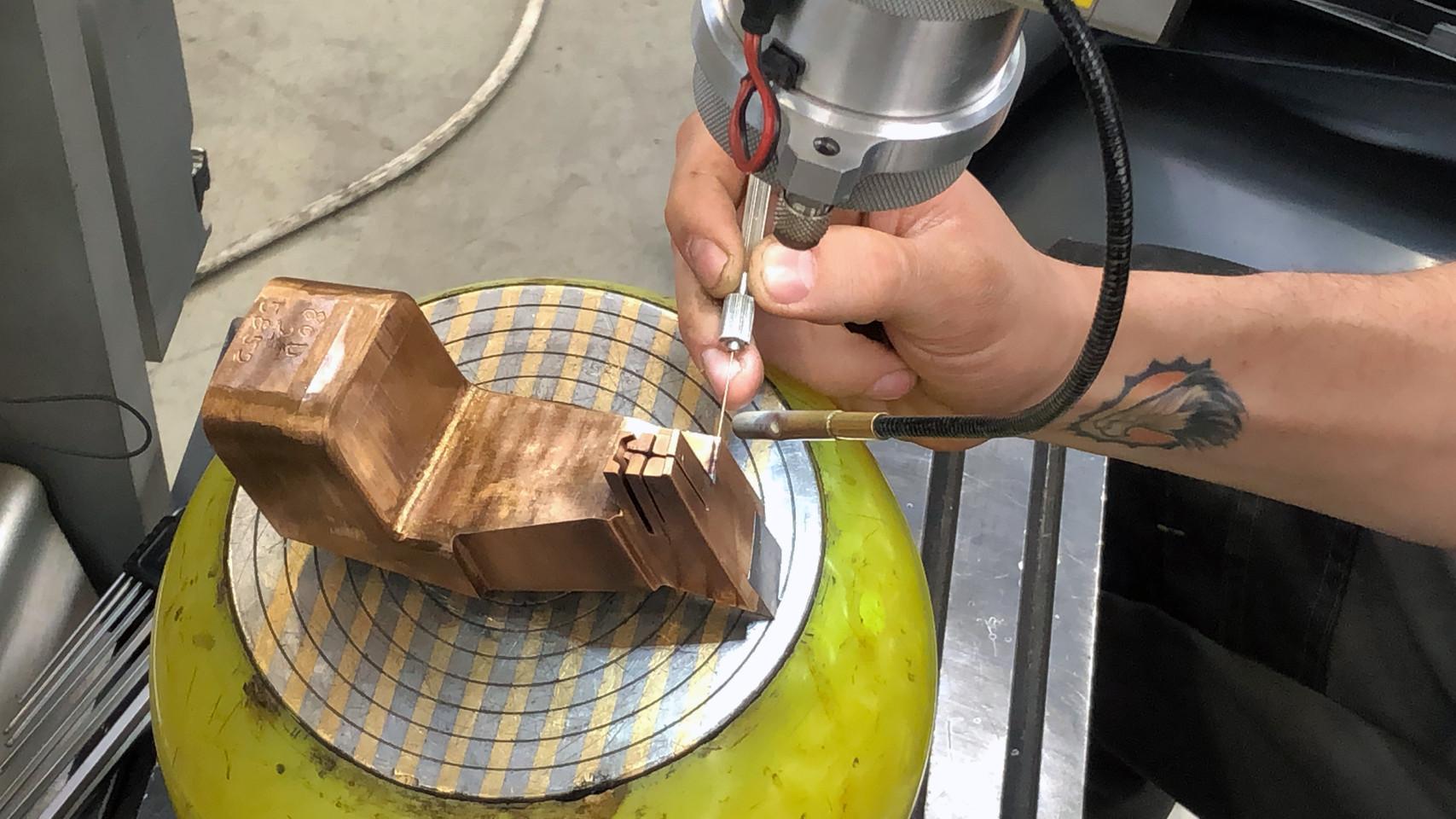 Laserové navařování u klienta