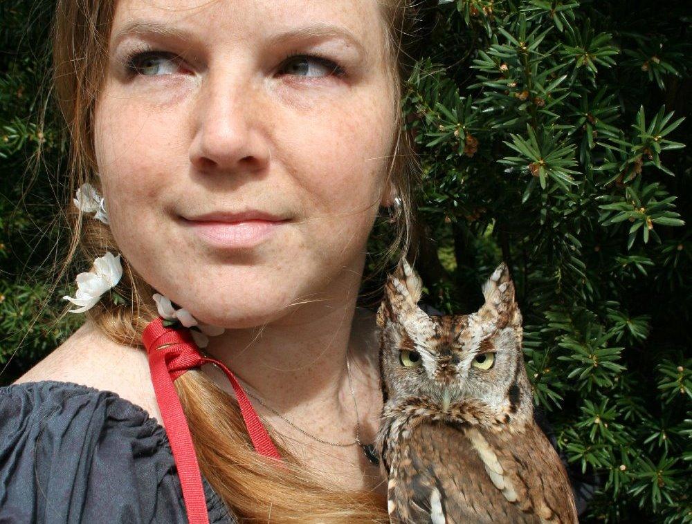 Screechie the Screech Owl