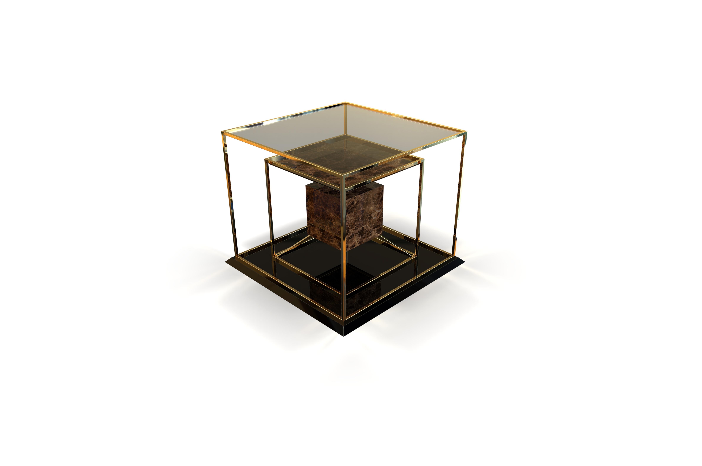 Quadri side table