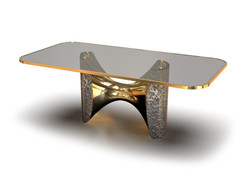 Fusion Dining table Bronze