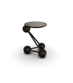 Structure Side Table Black