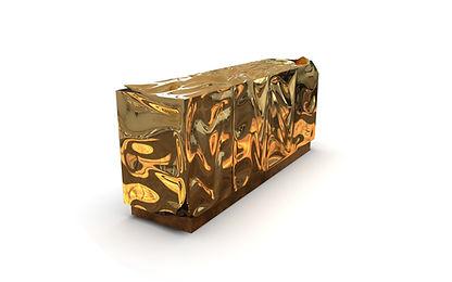 Smashed sideboard 2019 Polished brass.10
