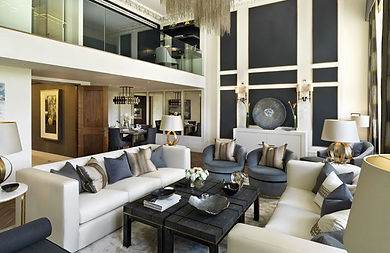 Modern and exclusive living room design
