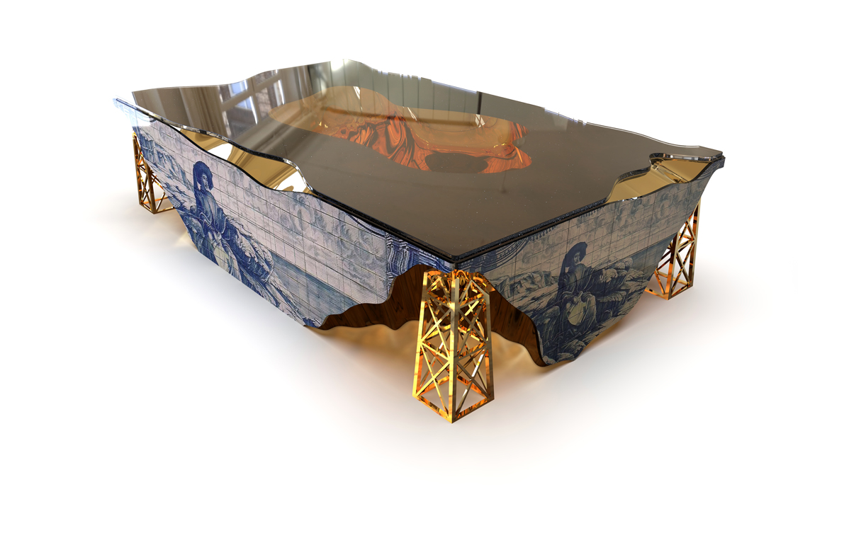 Oporto center table