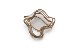 Curl Coffee table Bronze Satin