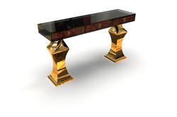 Parisian Console Brass