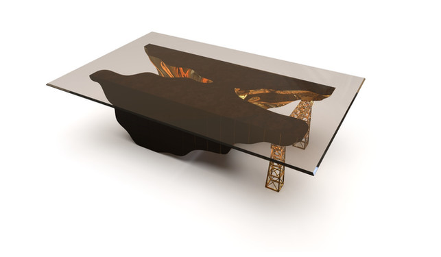 Oporto Black series | Dining table