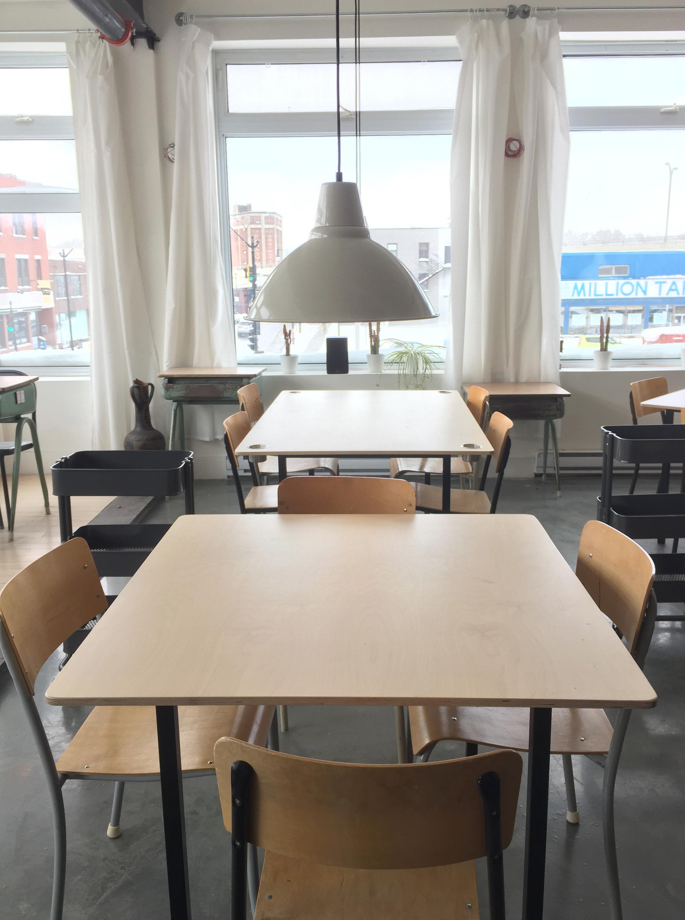 LOFT CRÉATIF Tables Atelier