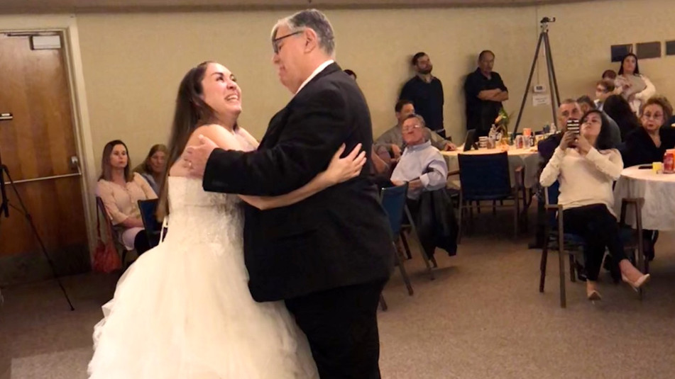 Julia's Dance with Dad