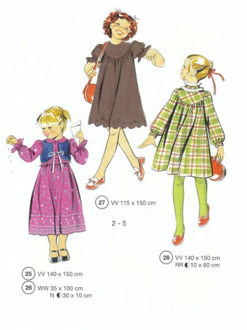 SEWING for TODDLERS (2-5 yrs)