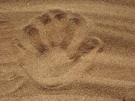 Marca de mão