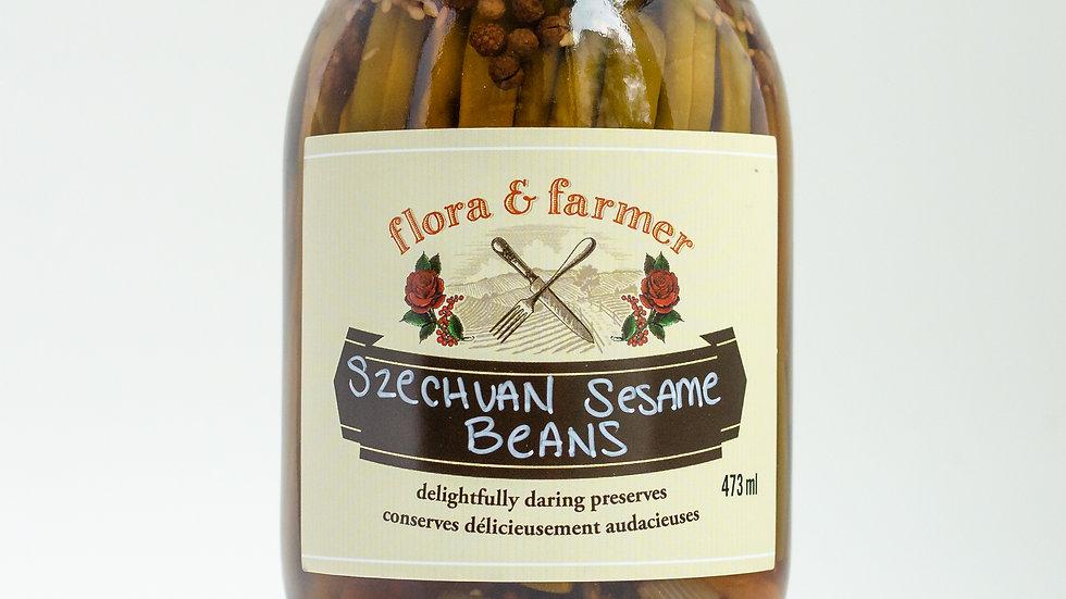 Szechuan Sesame Beans
