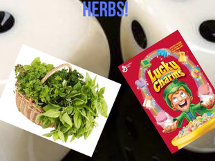 THE WORLD OF LUCK: LUCKY CHARMS VS. LUCKY HERBS!