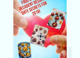 FOOD DATING: DECADENT DESSERT DATE SECRETS FOR 2016!