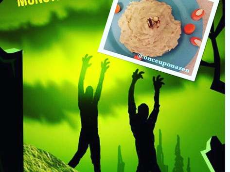 FESTIVE FOODIE SERIES: SPOOK-TACULAR ALMOND MONSTER MASTER !