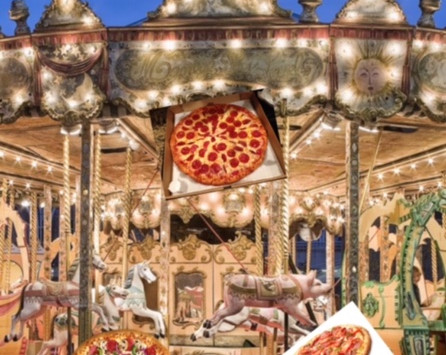 FIT FOODIE: THE MERRY-GO-ROUND OF PIZZA