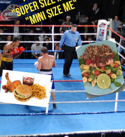 "THE FIGHT OF "" SUPER SIZE ME"" VS "" MINI SIZE ME"""