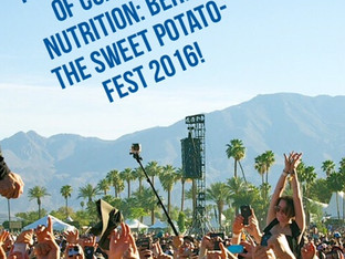 THE WILD SCANDALS OF COACHELLA NUTRITION: BEHIND THE 2016 SWEET-POTATO FEST!