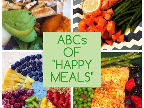 """THE ABCs OF  """"HAPPY MEALS"""""""