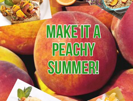 SUMMER SKINNY SERIES: MAKE IT A PEACHY SUMMER !