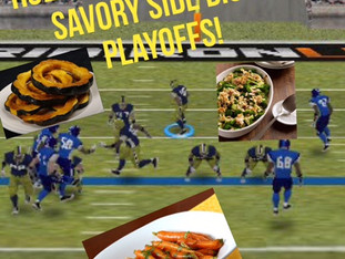 HOLIDAY FOODIE GAMES: SAVORY SIDE DISH PLAYOFFS!