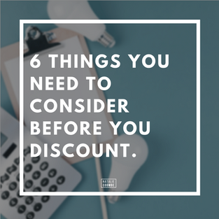 6 Things You Need To Consider Before You Discount Your Services [COVID-19 Special]