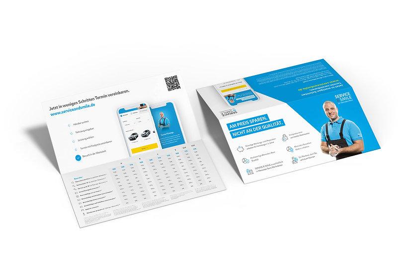 Service&Smile_Flyer_Print_Design_mockup.