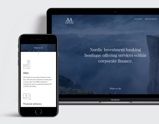 AAcapital website