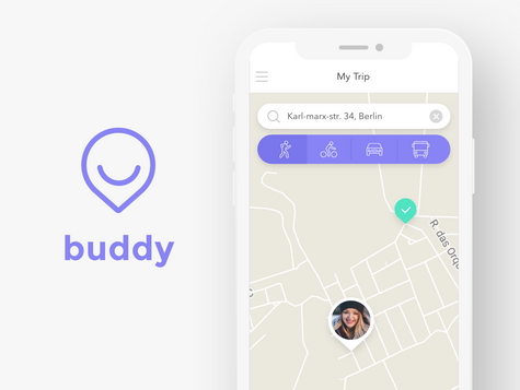 Buddy app design