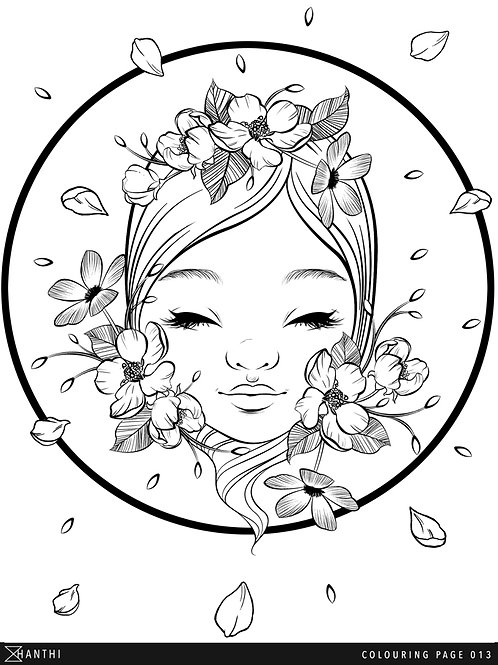 Free Patreon Colouring Page 013