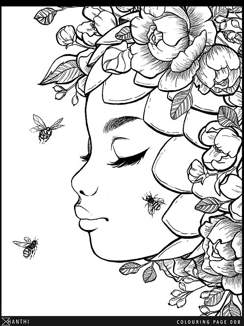 copy of Free Patreon Colouring Page 008