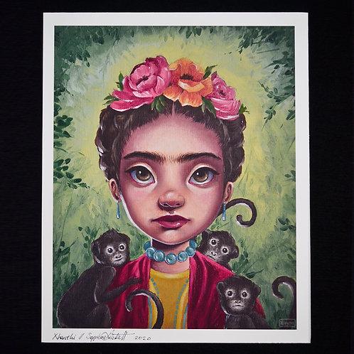 Frida Kahlo 8x10 Print