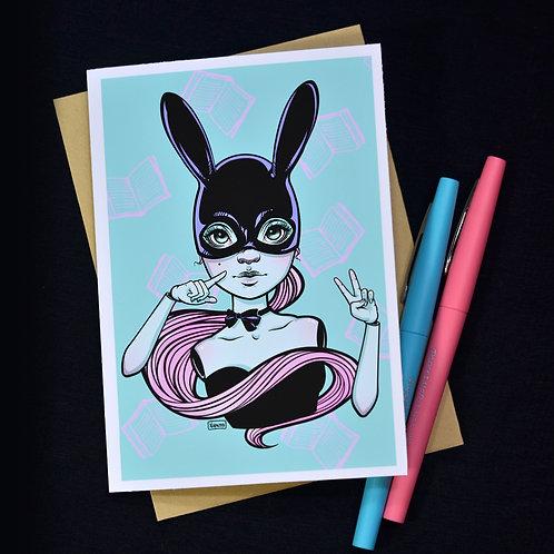 Doll Bun Notecard