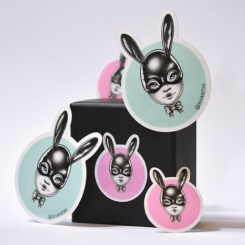 Vinyl Bun Sticker Set