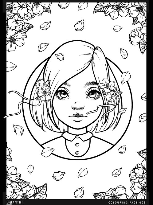 Free Patreon Colouring Page 009