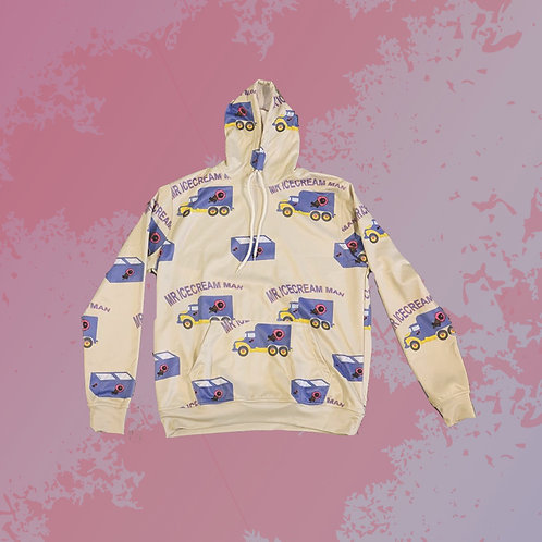 Mr. Ice Cream Man Pullover Hoodie