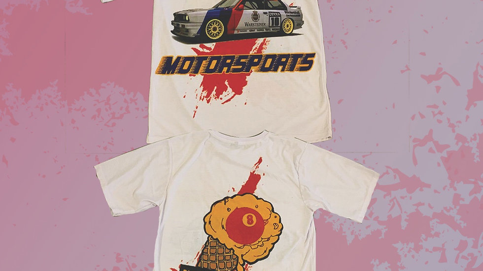 """PXM MOTORSPORTS """"DELUXE EDITION """" PIT STOP TEE"""