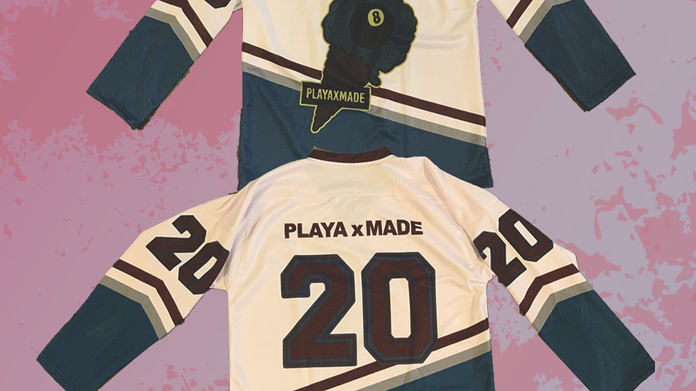 PlayaxMade Home Hockey Jersey