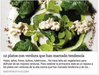 12 platos con verdura que han marcado tendencia