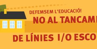 Concentració Comunitat Educativa Baix Llobregat