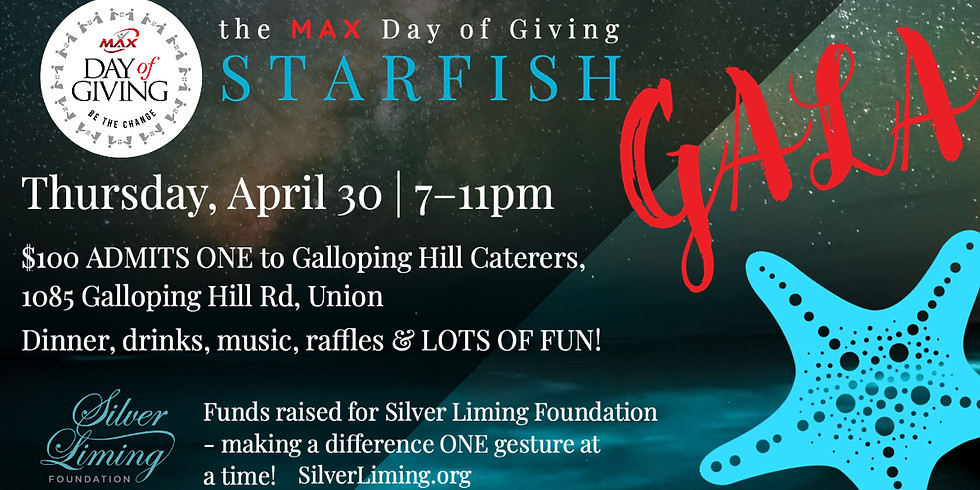 MAX Day of Giving Starfish Gala