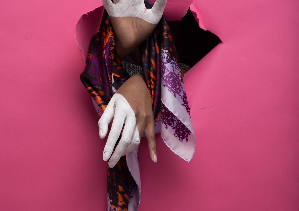 Photographer: Jérôme Pannetier MakeUp: Audrey Logeais  Stylist: Anastasia Zimikhina  Model: Vicky Victoria  Model: Melifera