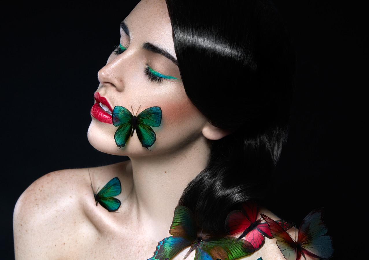 Photographer: Jérôme Pannetier Make Up: Camille Dievart  HairStyle: Rémy Villerelle Model: Maëva Anne-Blanche  Retoucher: George Buczko