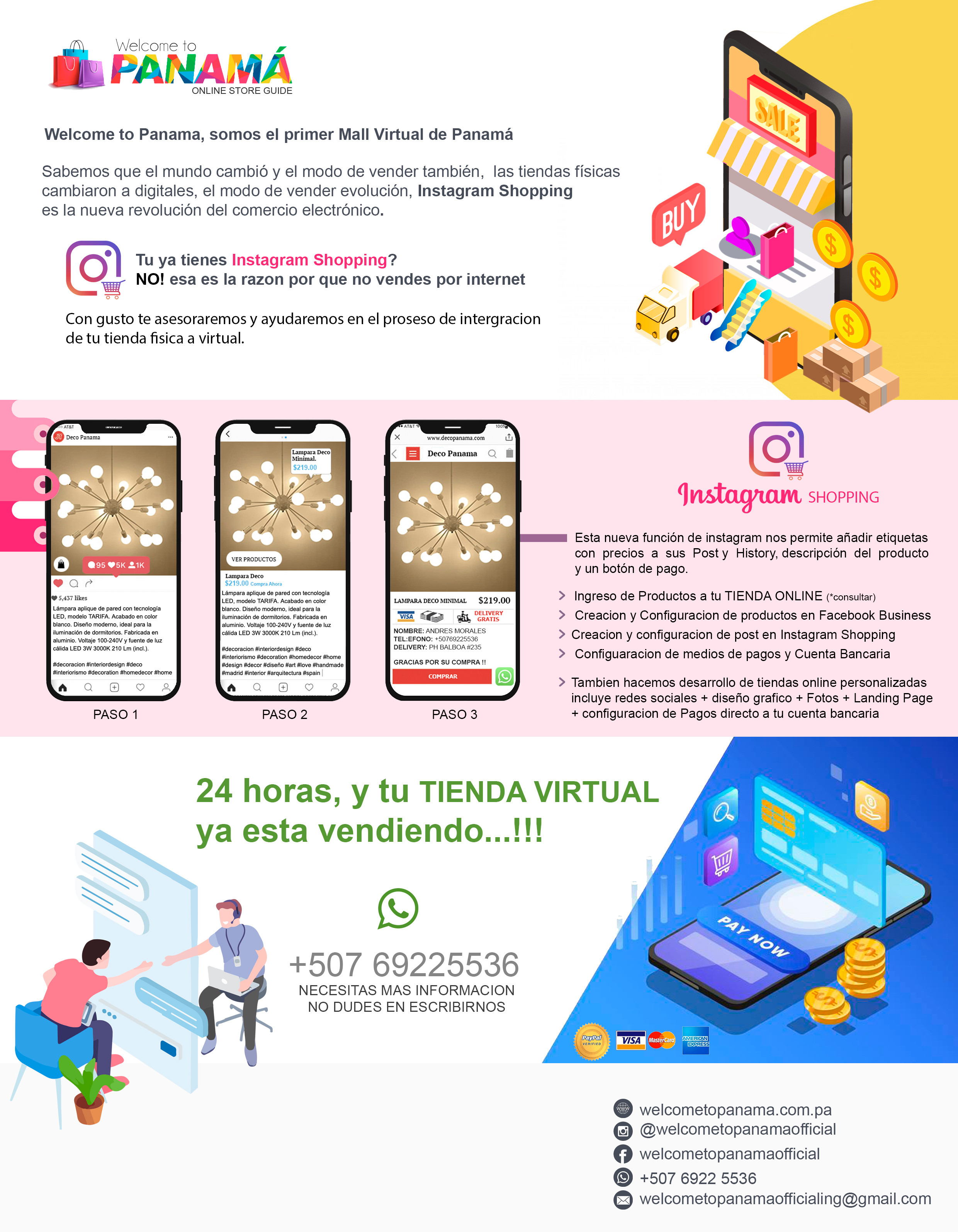 Plan Instagram Shopping y Tienda ONLINE
