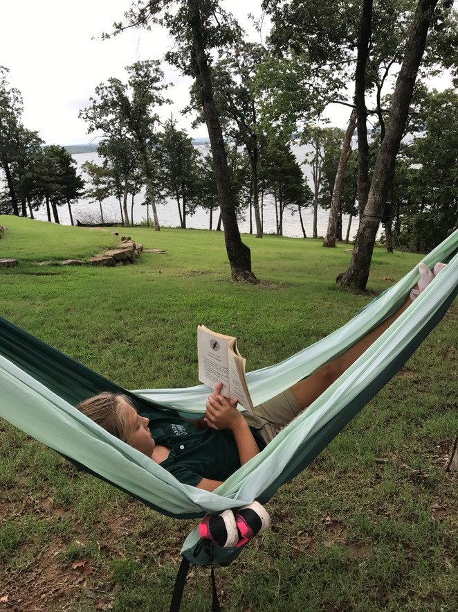 Hammock with a view of Lake Eufaula