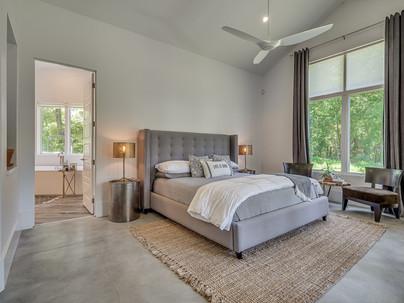 Master bedroom in Stone Ridge Estates