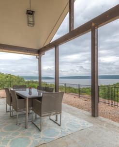 Porch view of Lake Eufaula