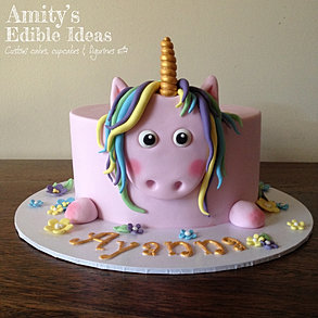 Alice In Wonderland Cake Unicorn