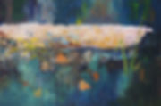In the Creek Oil  24 x 36 $550.jpg