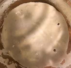 Dried sourdough starter - day one